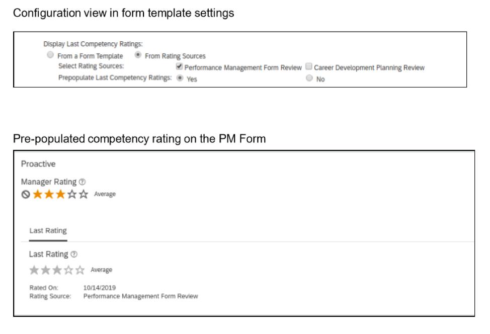 SAP SuccessFactors Performance Management update 2019