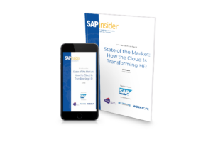 SAPinsider State of the Market Report