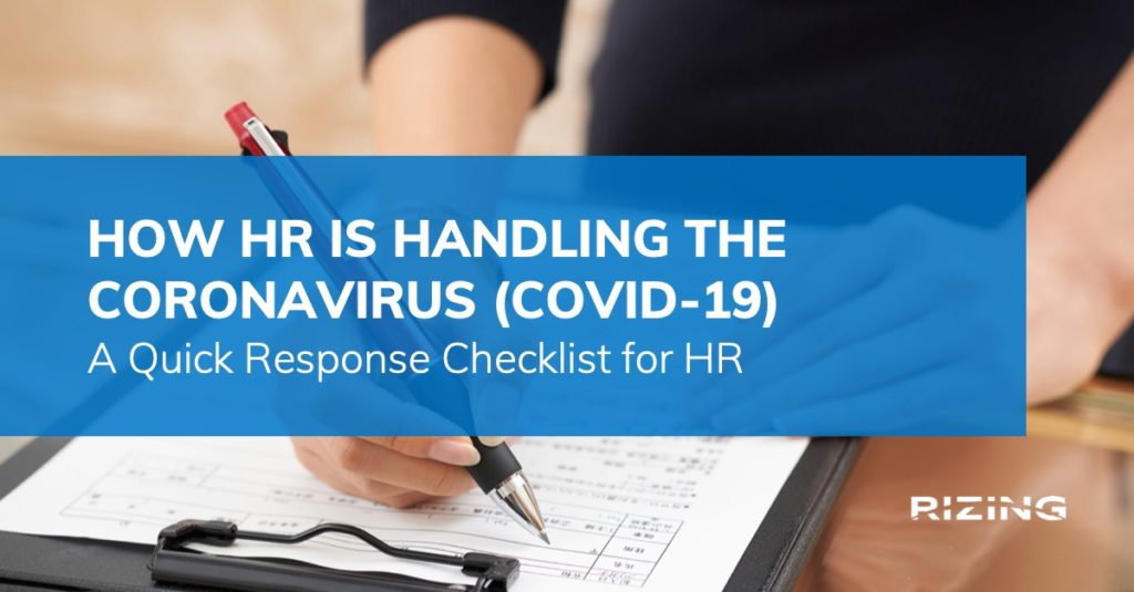 How HR is handling the Coronavirus: Addressing Coronavirus with HCM Tech featured image