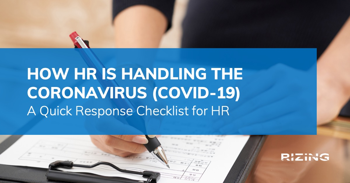 How HR is handling the Coronavirus: Addressing Coronavirus with HCM Tech featured image