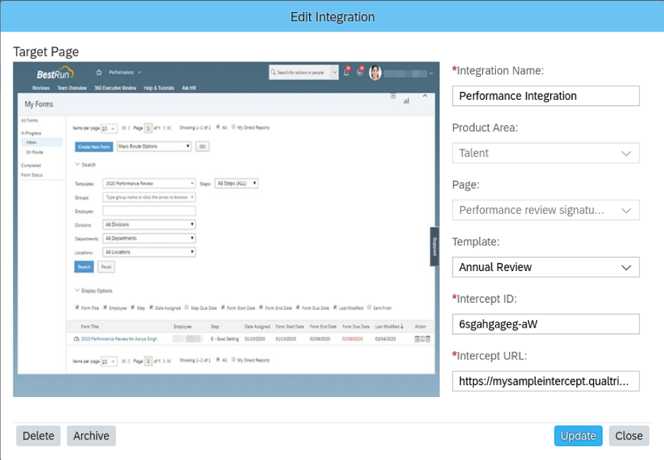 SAP SuccessFactors H1 2020 Performance Management Release Qualtrics