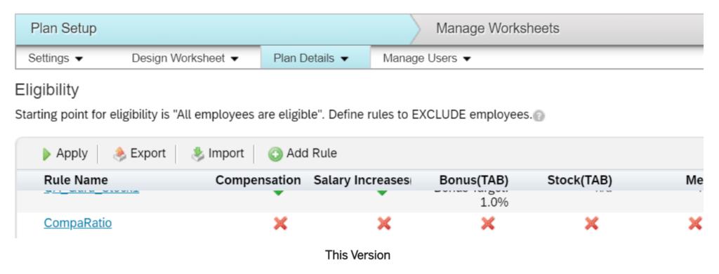 H1 2020 Compensation and Variable Pay SuccessFactors SAP