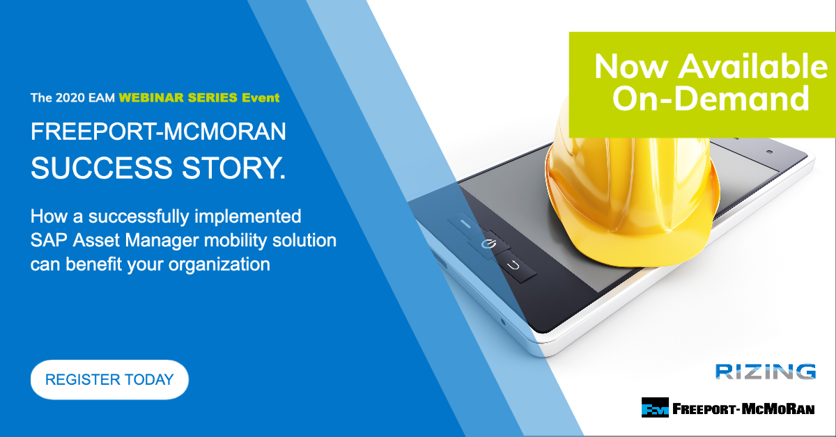 Freeport Success Story. How a successfully implemented SAP Asset Manager mobility solution can benefit your organization featured image