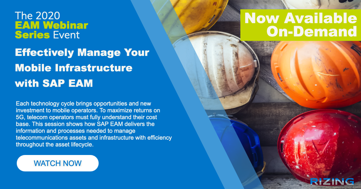 Effectively Manage Your Mobile Infrastructure with SAP EAM featured image