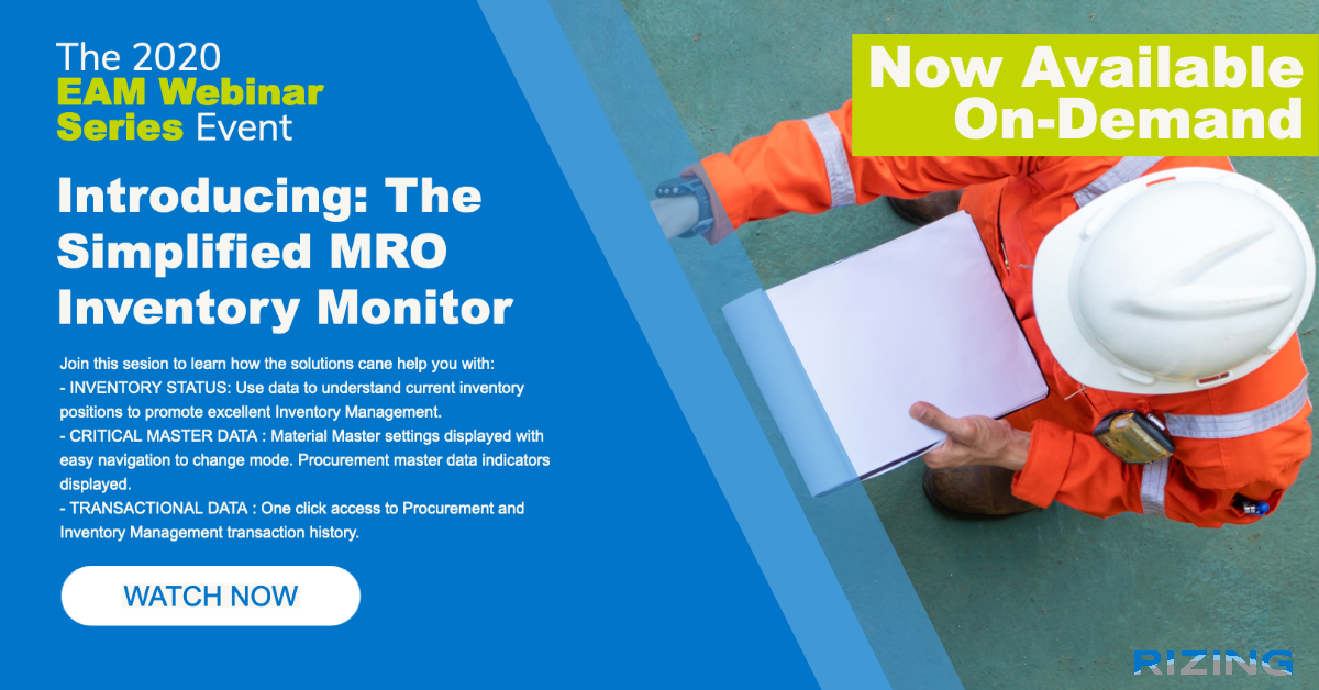 Introducing: The Simplified MRO Inventory Monitor featured image