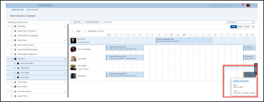 SuccessFactors H2 2020 Employee Central release update
