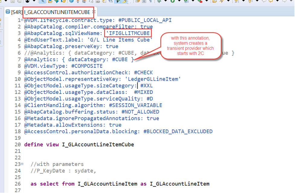Find the underlying Bex Query SAP Fiori CDS View