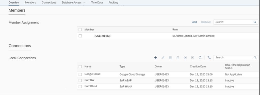 SAP Data Warehouse Cloud