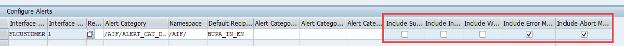 SAP AIF configure