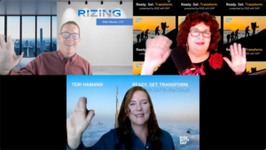 Rizing CEO Mike Miaolo appearing on an SAP podcast.
